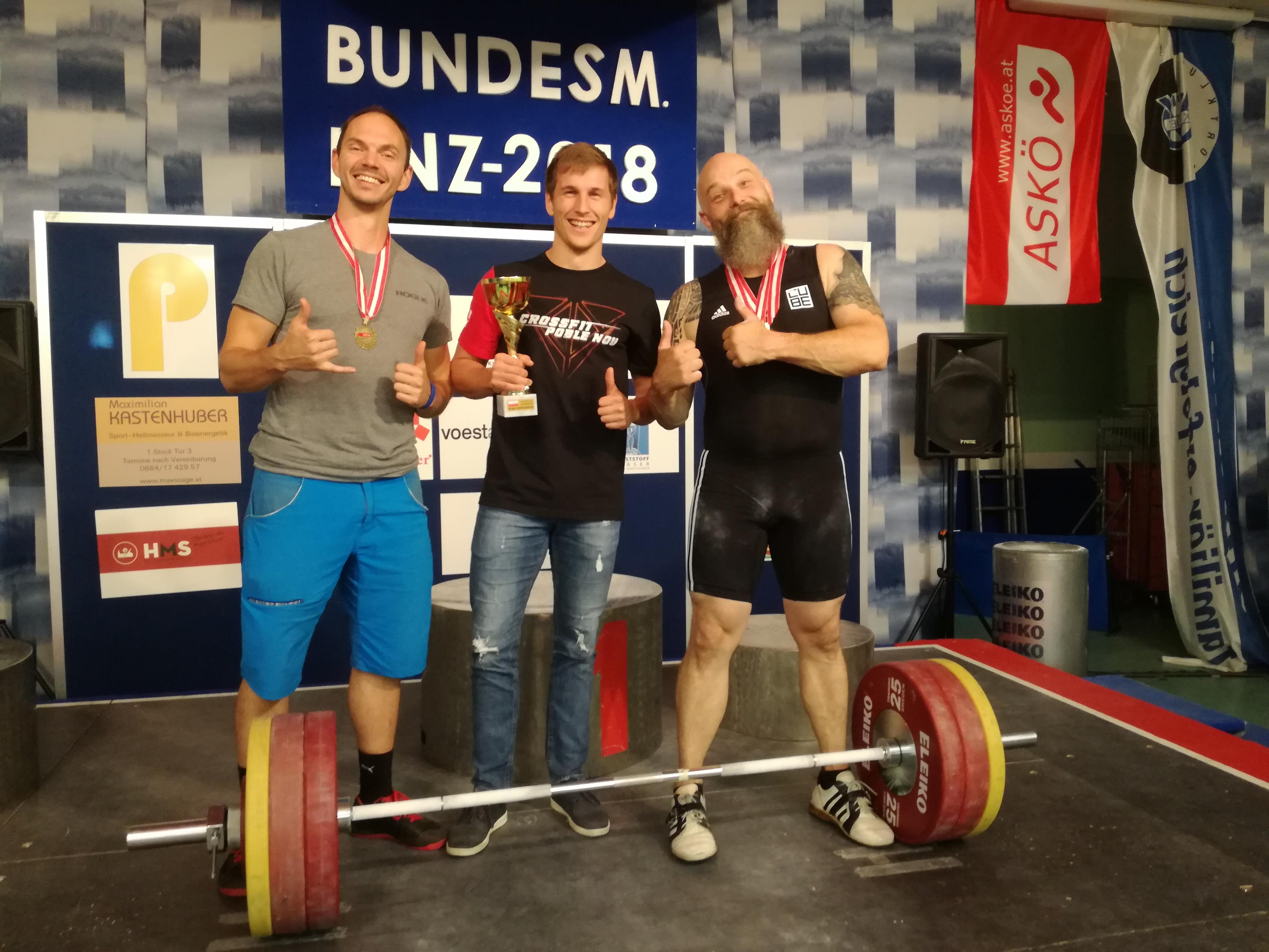 ASKÖ-Bundesmeisterschaften in Linz am 29. & 30.6.2018