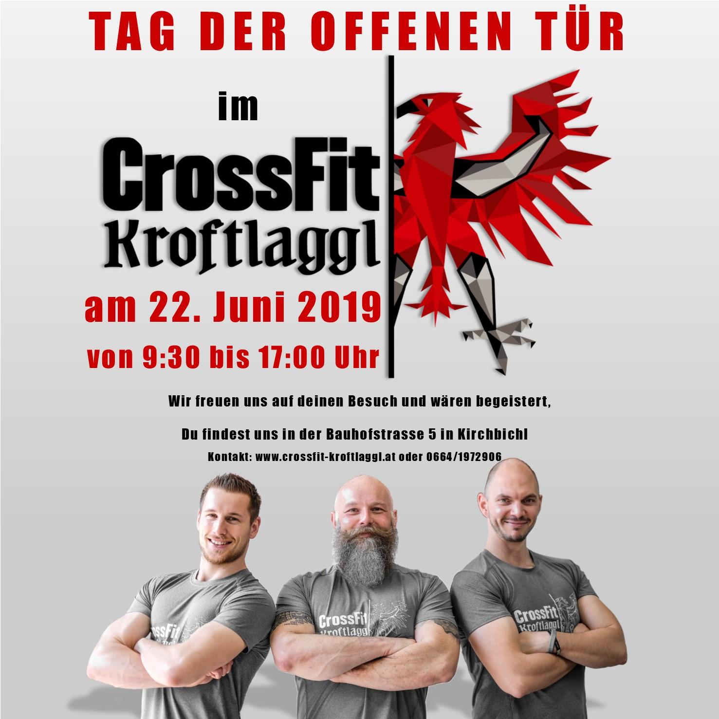 CrossFit Kroftlaggl lädt zum Open Day